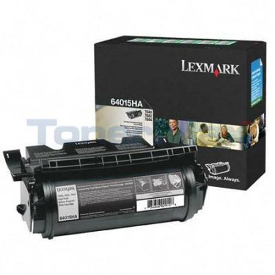 LEXMARK T644 PRINT CARTRIDGE BLACK RP 21K
